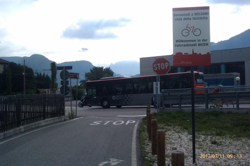 Fahrradstadt Bozen