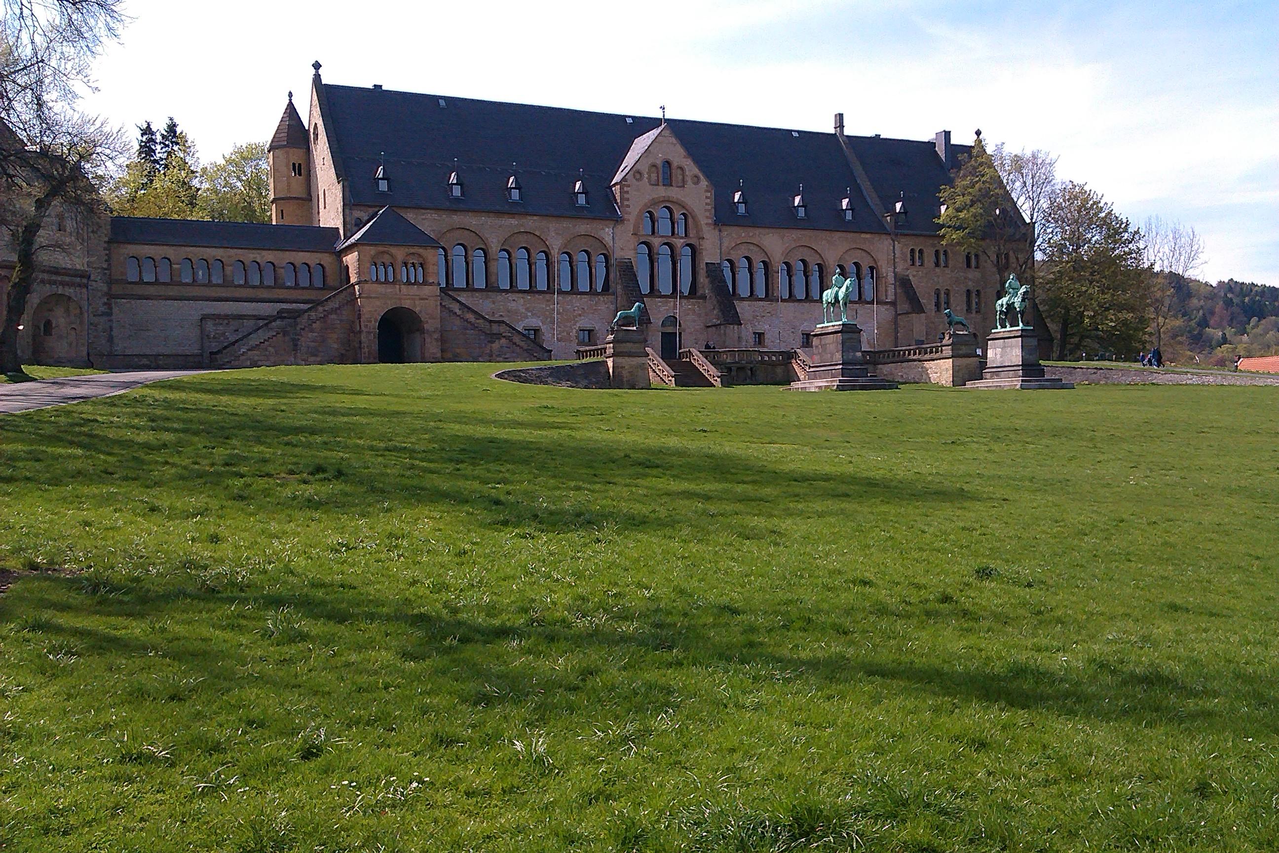 Die Kaiserpfalz in Goslar.