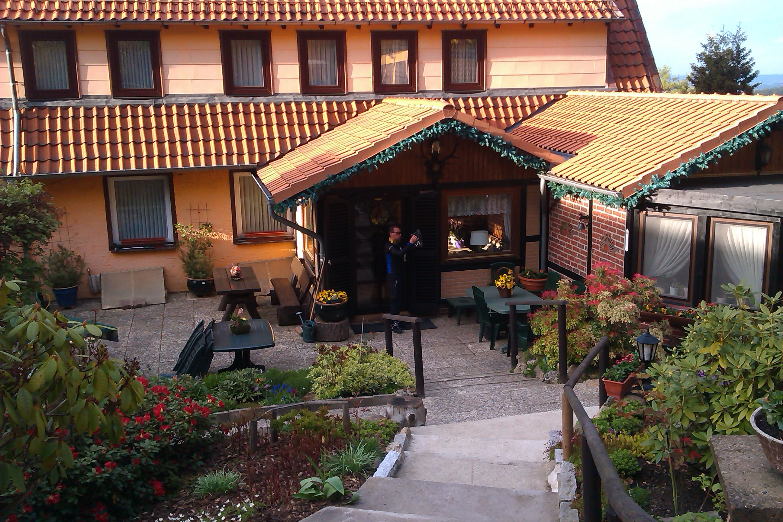 Unsere Unterkunft in Bad Harzburg.